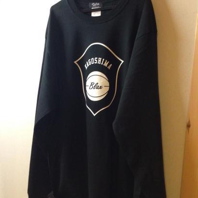 BLAX emblem LongT-shirts(BLACK)