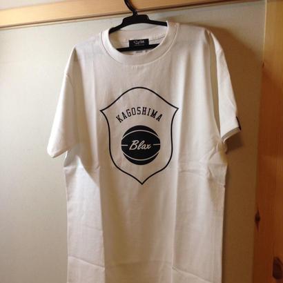 BLAX emblem T-Shirts(WHITE)