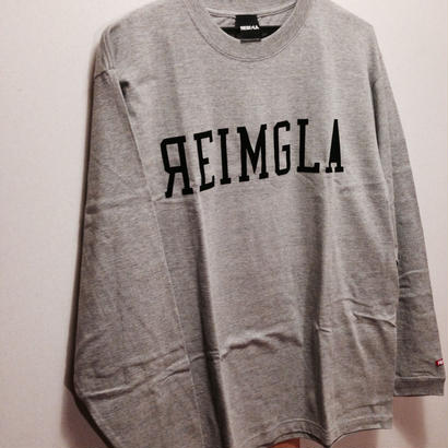 REIMGLA LOGO Long T-shirts(Gray)