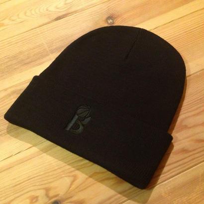 BLAX W beanie cap(BLACK)