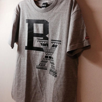 BLAX Tribal T-Shirts Gray