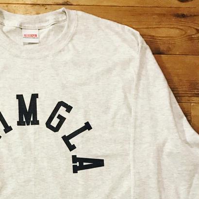 REIMGLA ARCH LOGO Long T-shirts(Ash)