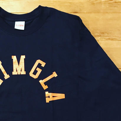 REIMGLA ARCH LOGO Long T-shirts(Navy)