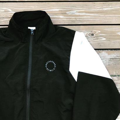 REIMGLA  Nylon Truck Jacket(Black×White)