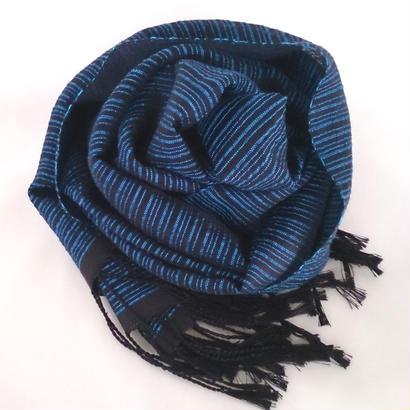 黒キイトストール(ブルー)