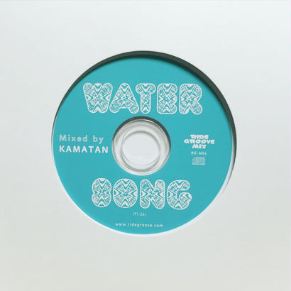 WATER SONG / MIX-CD / CD  mixed by KAMATAN
