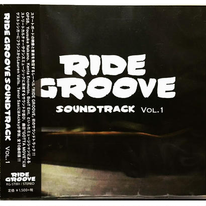 RIDE GROOVE SOUNDTRACK VOL.1 / Various Artists / CD