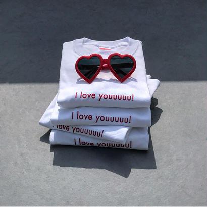 I love youuuuu!tee(kids長袖)