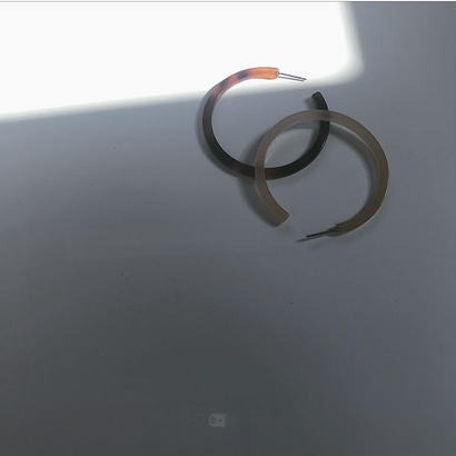 べっ甲pierce- silver925