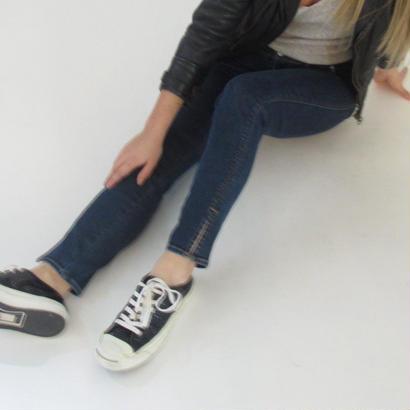 "#501🔻AOS ""Ankle slit skinny"""