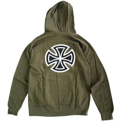 INDEPENDENT / BARCROSS PULLOVER ARMY インディペンデント  パーカー