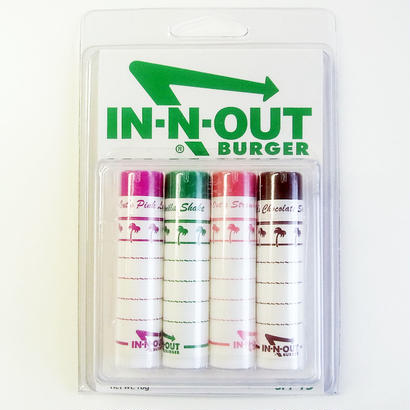 In-N-Out Burger FLAVORED LIP BALMS インアンドアウトバーガー リップセット