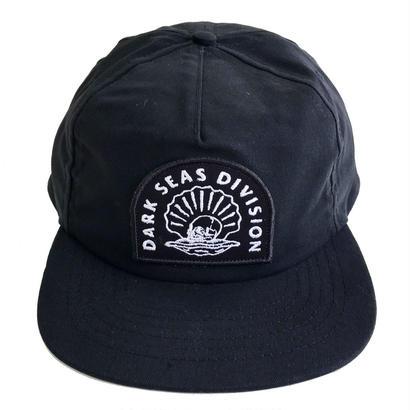 DARK SEAS   COWL CAP BLACK ダークシーズ キャップ