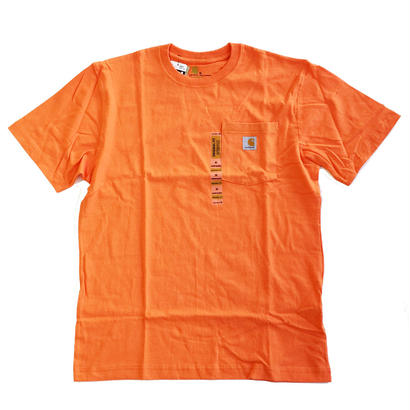 CARHARTT / WORKWEAR POCKET TEE ORANGE カーハート Tシャツ