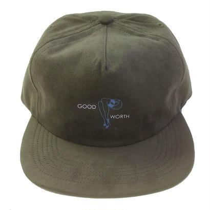 GOOD WORTH /   LEGS STRAPBACK OLIVE グッドワース キャップ