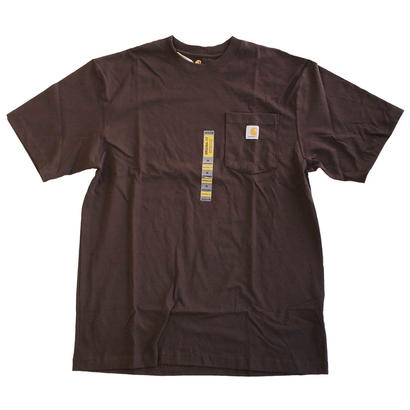 CARHARTT / WORKWEAR POCKET TEE DARKBROWN カーハート Tシャツ