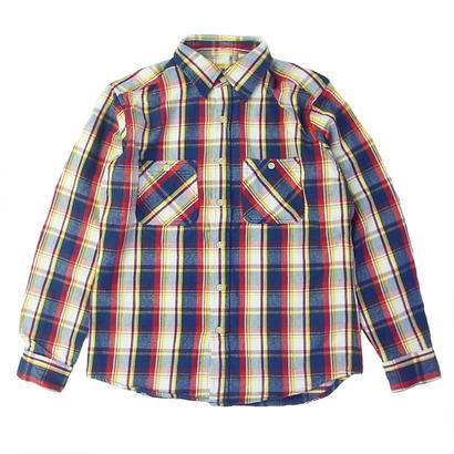 CAMCO(カムコ) HEAVY FLANNEL SHIRTS L/S Shirts BLUE ヘビーフランネルシャツ