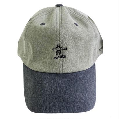 THRASHER スラッシャー / PIGMENT CAP  後染め キャップ  GREEN/BLACK