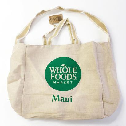 WHOLE FOODS MARKET / ADWIT OG TOTE KHAKI ホールフーズマーケット トートバッグ