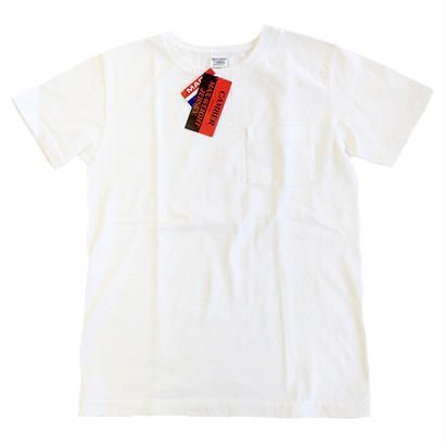 CAMBER / キャンバー 別注Tシャツ 302 SP Max Weight Crew Neck Pocket TEE WHITE