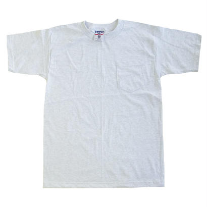 BAYSIDE / UNION MADE POCKET TEE ASH ベイサイド Tシャツ グレー MADE IN USA