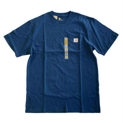 CARHARTT / WORKWEAR POCKET TEE STREAMBLUE カーハート Tシャツ