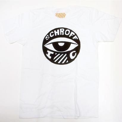 SCHROFF シュロフ / EYE BALL S/S TEE WHITE Tシャツ