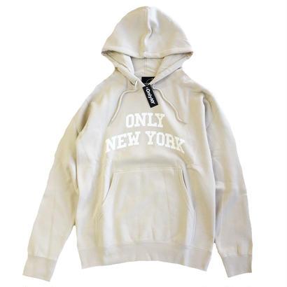 ONLY NY / Varsity Hoody STONE オンリーニューヨーク パーカー
