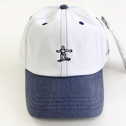 THRASHER スラッシャー / PIGMENT CAP  後染め キャップ  NAVY/WHITE
