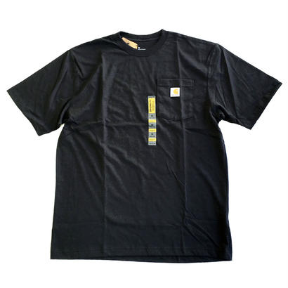 CARHARTT / WORKWEAR POCKET TEE BLACK カーハート Tシャツ