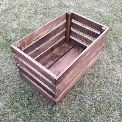 ウッドボックス  蓋付  ブライワックス  JACOBEAN  2箱セット