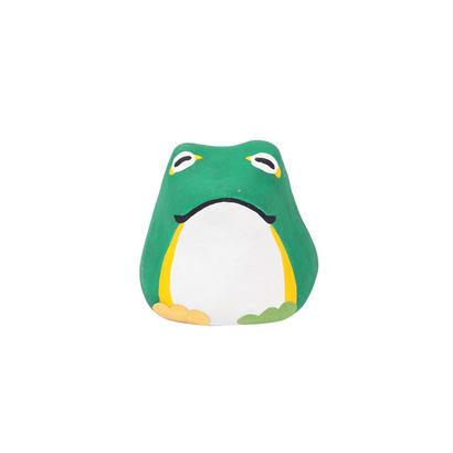 張り子(おみくじ付) 蛙