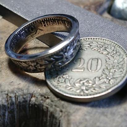 スイス硬貨リング 11号