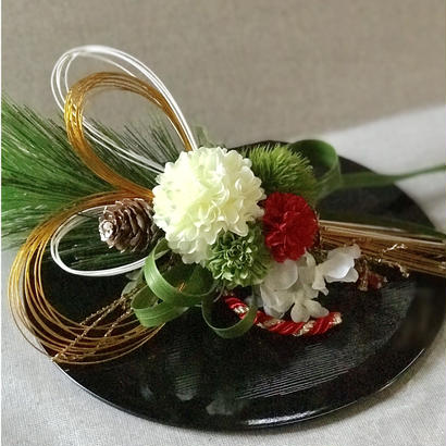 花飾りfor鏡餅