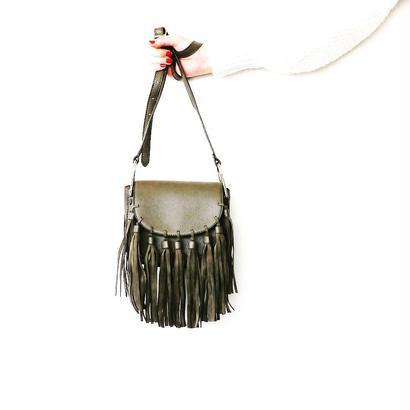 TASSEL SHOULDER BAG - Khaki