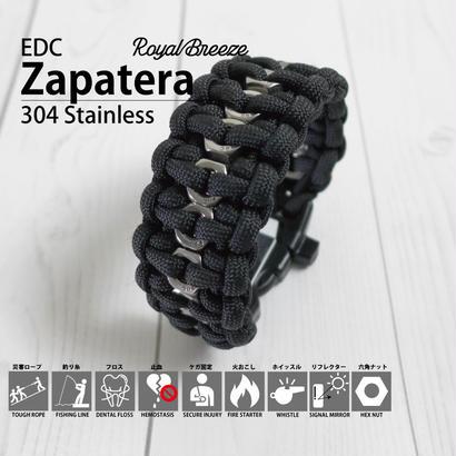 Royal Breeze|パラコード|ブレスレット|ブラック|EDCザパテラ|ハンドメイド|日本製