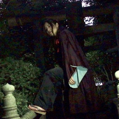帯リメイクパンツ(松虫草)