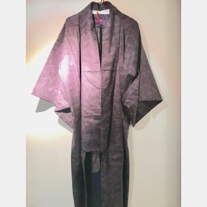 アンティーク浴衣(青紫)