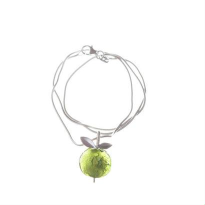Happy Sthlm_Apple Necklace Green