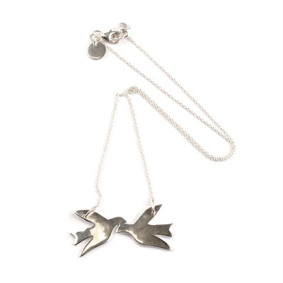 Syster P _ Birdy Necklace Silver