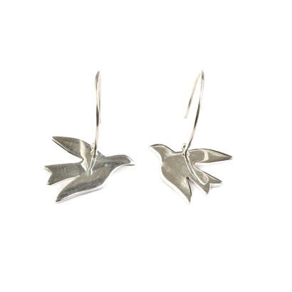 Syster P _ Birdy Earrings Silver (ピアス)