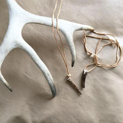 Reindeer antler pendant (triangle)