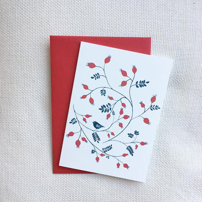 Happy Sthlm_folded card_ROSE HIP