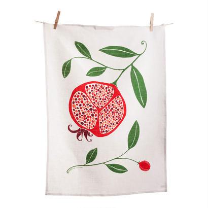 Happy Sthlm_Tea Towel_POMEGRANATE