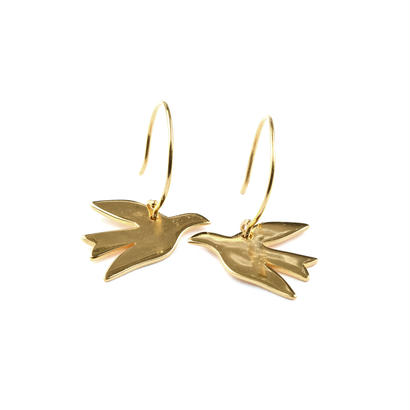 Syster P _ Birdy Earrings Gold ( ピアス)