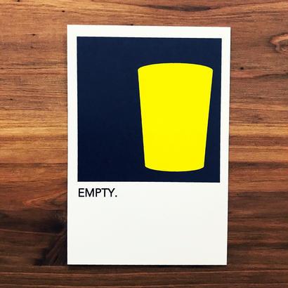 "WRITE&DRAW.  ORIGINAL GRAPHIC CARD ""EMPTY"""