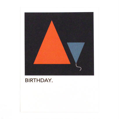 "WRITE&DRAW.  ORIGINAL GRAPHIC CARD ""BIRTHDAY"""