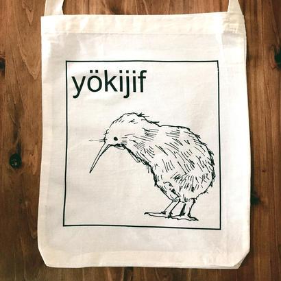 "WRITE&DRAW.×YOKIJIF ECOBAG ""kiwi"""