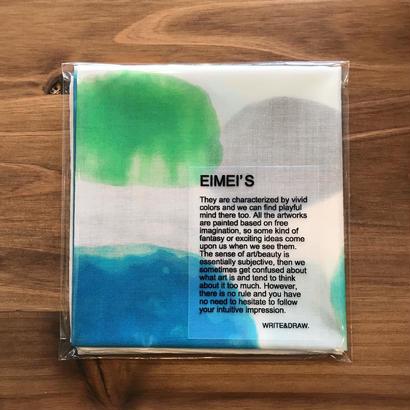 WRITE&DRAW.×Eimei's Art  ORIGINAL HANDKERCHIEF
