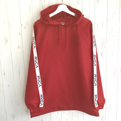 RVCA ANORAK JACKET RED